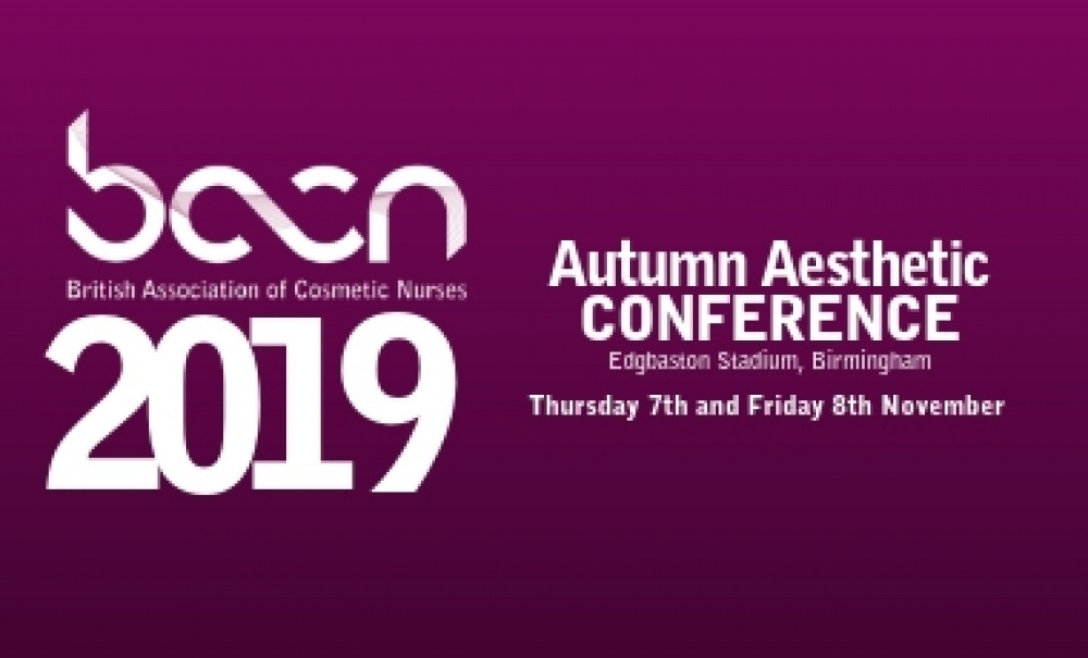 BACN Autumn Aesthetic Conference 2019