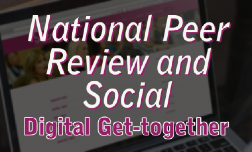 National Peer Review with Aine Larkin